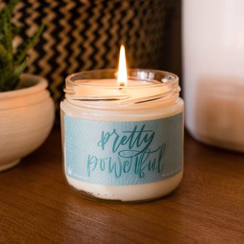 Soy Candle - Pretty & Powerful