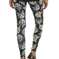 Black Cat Friends Leggings