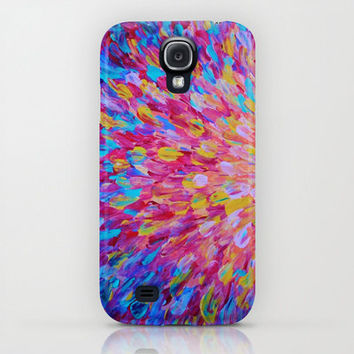SPLASH, Revisited Girly iPhone 4 4s 5 5s 5c 6 Case, Samsung Galaxy Beautiful Feminine Ocean Beach Waves Magenta Pink Turquoise Blue Crimson