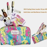 Estee Lauder 2013 Spring Collection 10 pcs Skin Care and Makeup Gift Set ($170 Combined Value)