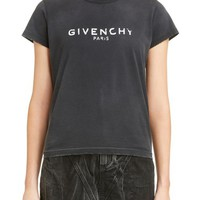Givenchy Destroyed Logo Tee | Nordstrom
