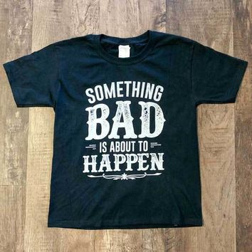 Something Bad | Youth Tee