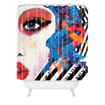 Lana Greben Real Fantasies Prada 3 Shower Curtain