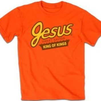 Kerusso Adult Christian T-shirt Sweet Savior King of Kings