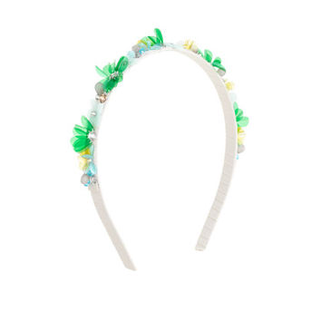 crewcuts Girls Flower And Crystal Headband