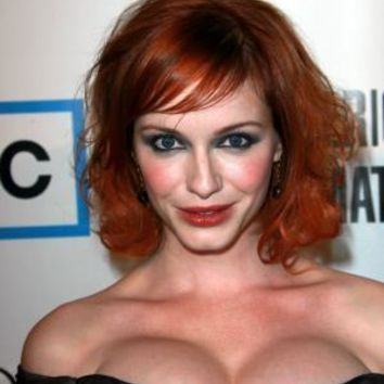 "Christina Hendricks Poster Low Cut Cleavage 16""x24"""