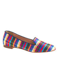 J.Crew Womens Cleo Fabric Loafers