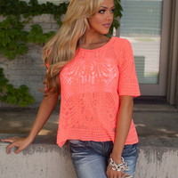 Get into the Groove Lace Top