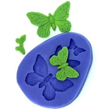 Longzang F0319 Fondant Silicone Sugar Mold for Cake Decorating