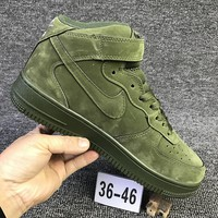 Metoo Nike Air Force 1 Mid For Christmas AF1 Running Sport Casual Shoes 315123-302 Sneakers