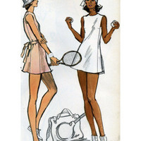 Tennis Dress Patternmaking Illustration Posters at AllPosters.com