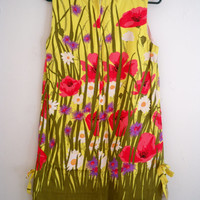 Retro Spring Flower Dress
