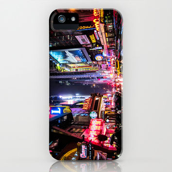 New York City Night iPhone & iPod Case by Nicklas Gustafsson