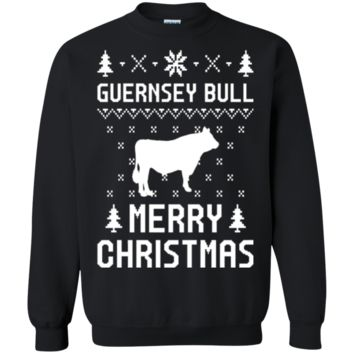 Guernsey Bull Ugly Christmas Sweater