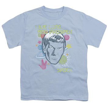 Star Trek - Japansese Spock Short Sleeve Youth 18/1 Shirt Officially Licensed T-Shirt