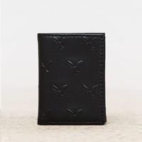 's Leather Trifold Wallet (B