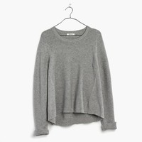 Riverside Texture Sweater : shopmadewell pullovers | Madewell