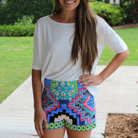 Main Attraction Short - Mint - Hazel & Olive