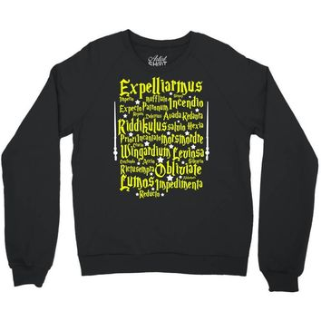Expelliarmus Harry Potter Spell Crewneck Sweatshirt