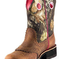 Ariat Fatbaby Brown Camo Boots