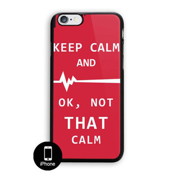 Keep Calm Hospital Night Dr Funny Medical Humor iPhone 5C Case