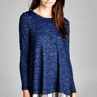 Gotta Be Girly Knit Top