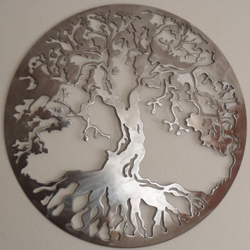 Tree Of Life, LARGE Wall decor, Metal Art