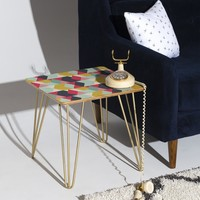 Heather Dutton Tribeca Nightlife Side Table