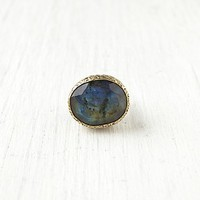 Free People Petrol Stone Ring