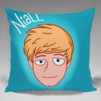One Direction Niall Horan  - Square and Regtagular Pillow Case One Side/Two Side.
