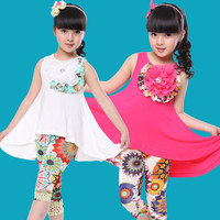 Beautiful Summer Floral 2 PC Set