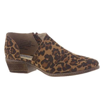 Not Rated Jasper Ankle Bootie in Leopard