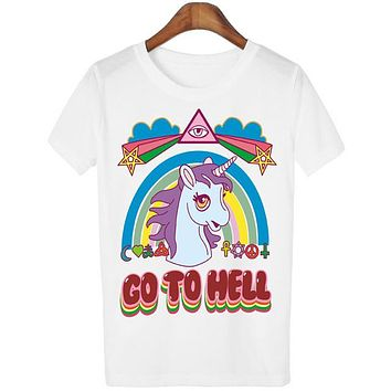 Go to Hell Unicorn Collection
