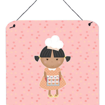 Baker African American on Pink Wall or Door Hanging Prints BB7278DS66
