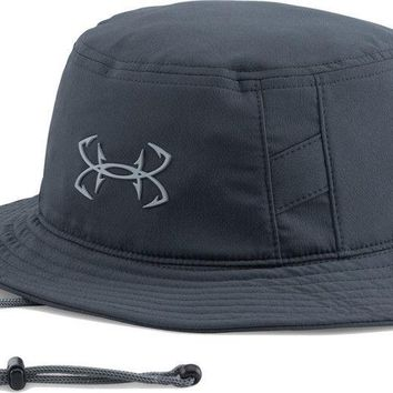 NWT Under Armour Men's Fish Hook Logo Bucket Boonie Hat Golf Hiking Fishing