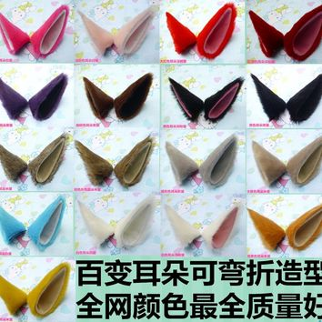Kamisama Kiss Tomoe Fox Ears Anime Cosplay Costume Headband Cat Fox Hair Band Multi-Color Headwear