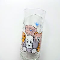 Vintage ET Phone Home Drinking Glass 1982