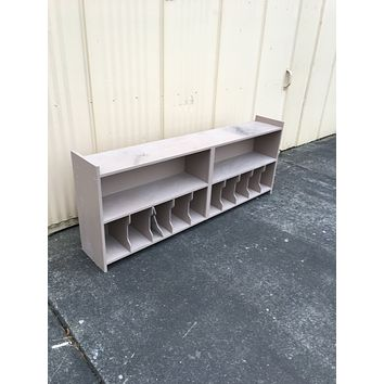 Long Shelf Unit 28in T x 72in L x 12in D -- Used
