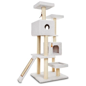 "You & Me Highrise Cat Tree, 26.7"" L X 30.7"" W X 65.5"" H 