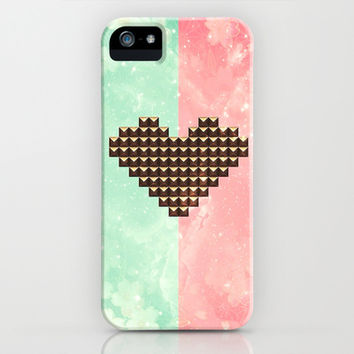 Studded Heart - for iphone iPhone & iPod Case by Simone Morana Cyla