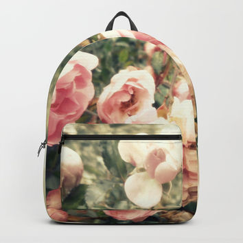 vague memory and roses Backpack by ARTbyJWP