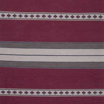 Jaipur Rugs FlatWeave Tribal Pattern Pink/Gray Cotton Area Rug MCF01 (Rectangle)