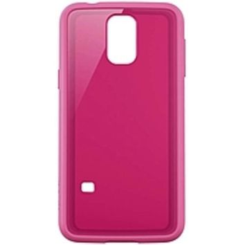 Belkin Air Protect Grip Vue Protective Case for Galaxy S5 - Smartphone - Fuschia - Tint - Plastic