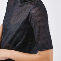Gauzy Funnel Tee by Boutique - Topshop