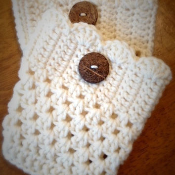 Children's Crochet Boot Cuffs