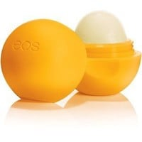 EOS Tangerine Medicated Lip Balm Sphere, 0.25 Ounce