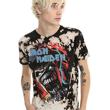 Iron Maiden Eddie Bleach Wash T-Shirt