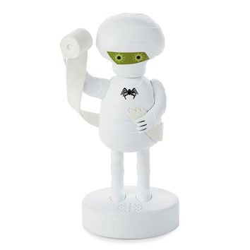 Hallmark Motion-Activated Talking and Singing Bathroom Mummy (Black)