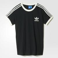 adidas 3-Stripes Tee - Black | adidas US