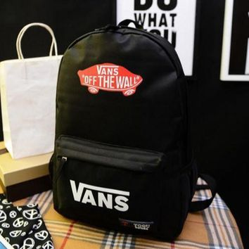ONETOW Day-First? VANS OFF THE WALL Canvas Backpack